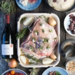 KWV Classic Collection Braai Day Recipe Grilled Karoo lamb Shoulder with Salsa Verde & Olive
