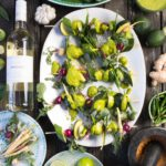 KWV Classic Collection Braai Day Recipe Tandoori Spiced Grilled vegetables with cucumber and mint raita and grilled flat bread