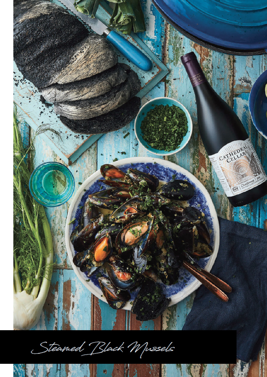 Mynhardt Cathedral Kitchen Steamed Mussels