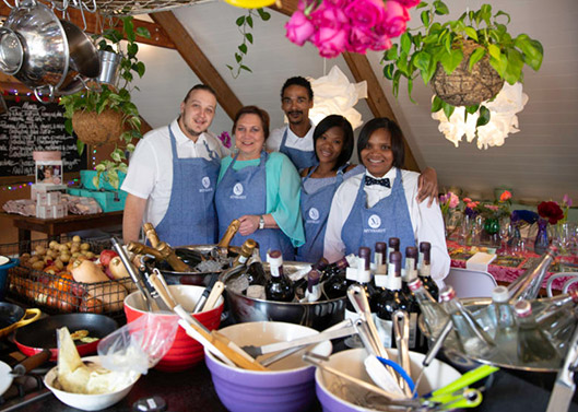 Mynhardt Stasie Kitchen staff